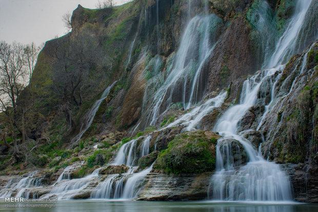 تاج آبشار بیشه فرو ریخت، تغییر در منظر طبیعی آبشار