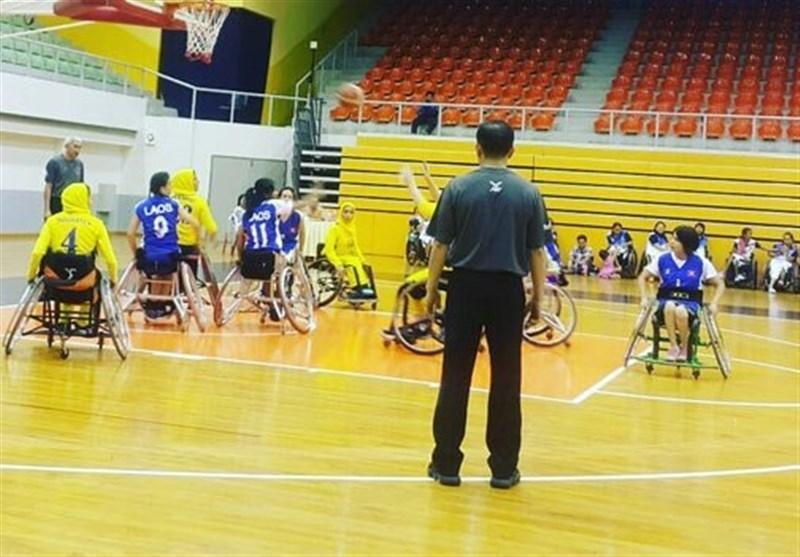 تورنمنت بین المللی بسکتبال با ویلچر آزاد بانوان، ایران با شکست کره جنوبی فینالیست شد