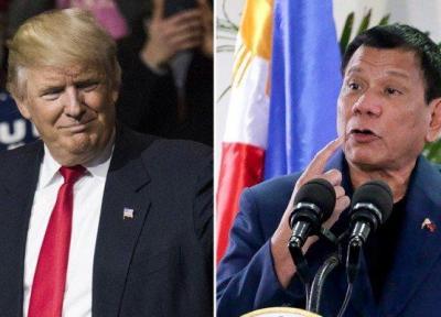 دوترته اذعان کرد: ترامپ مقصر مسائل اخیر اقتصادی در فیلیپین است