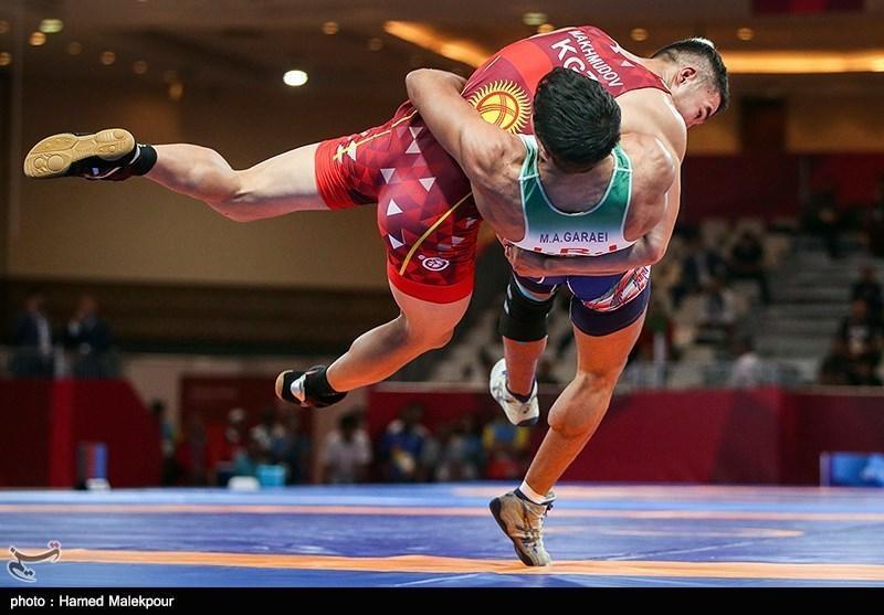 قهرمانان کشتی فرنگی دنیا صبح یکشنبه در ایران!