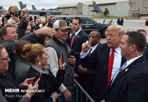 واکنش ترامپ به نتیجه انتخابات میان دوره ای کنگره آمریکا