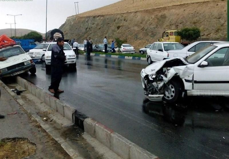 توصیه پلیس راهور به رانندگان به هنگام وقوع تصادف در جاده ها