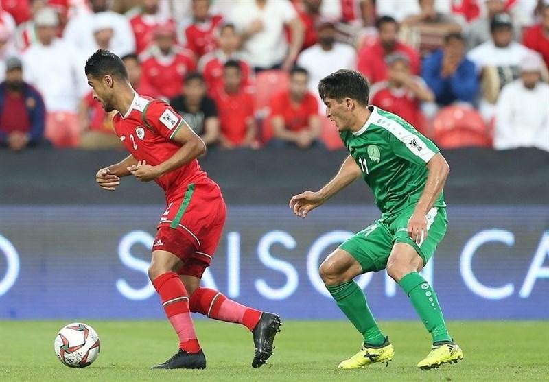 فزونی آماری عمان مقابل ترکمنستان