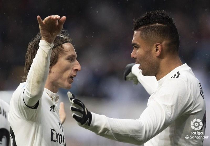 پیروزی رئال مادرید مقابل سویا با دو گل دیرهنگام