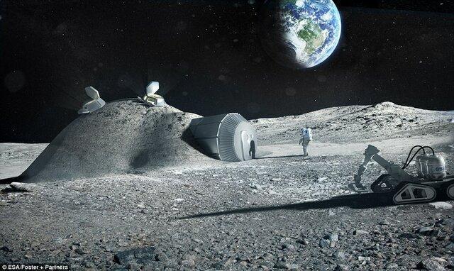 معدن کاری در ماه!