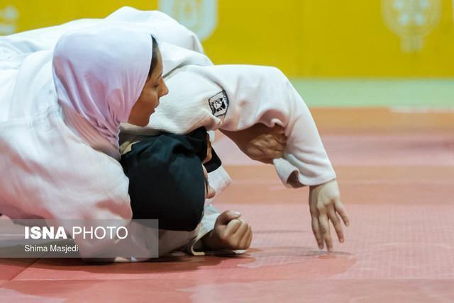 رقابت ها قهرمان کشوری جودو بانوان برگزارشد