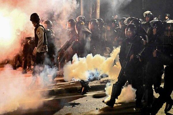 اعتراض به نتیجه انتخابات در اندونزی 6 کشته برجا گذاشت