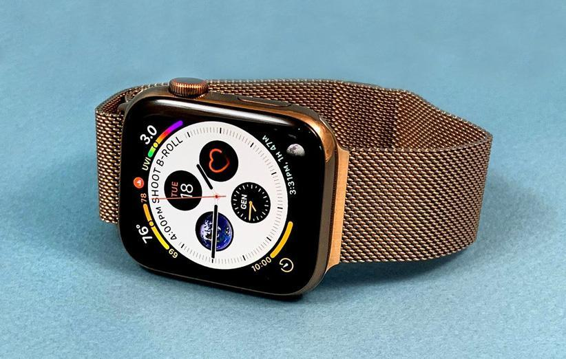 اپل به فکر تعبیه دوربین در بند اپل واچ بوده است