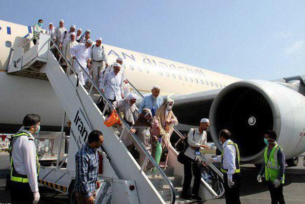 بازگشت حجاج به کشور از امروز آغاز می شود ، اختصاص یک پرواز برای حاجیان بیمار