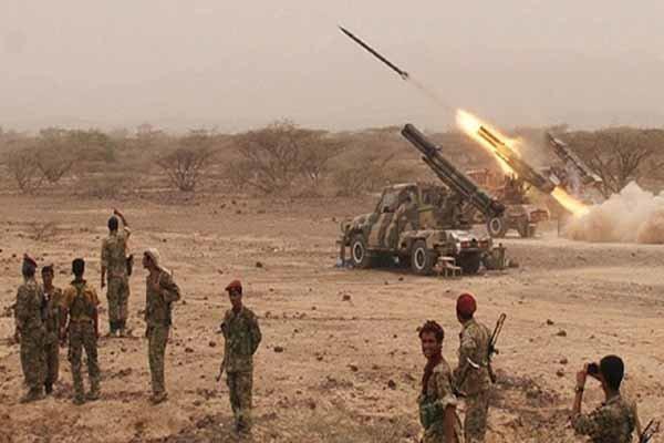 شلیک 6 موشک بالستیک زلزال 1 به مواضع متجاوزان سعودی