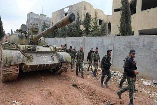 تسلط ارتش سوریه بر بخش اعظم شهر راهبردی خان شیخون