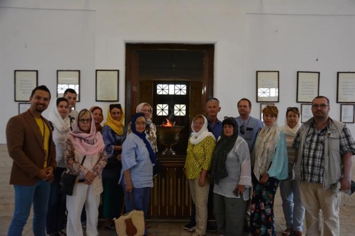 شهر جهانی یزد، میزبان هیئت تورگردانان مجارستان