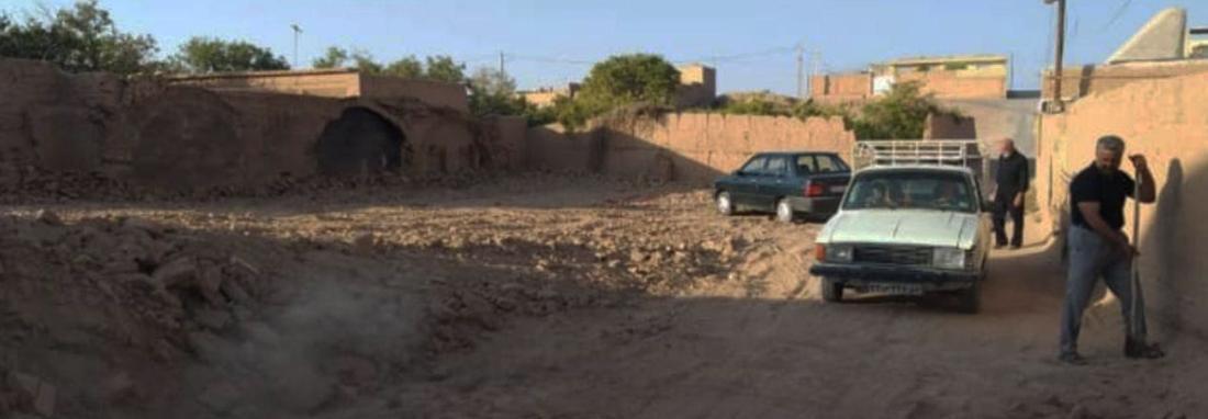 خانه ای تاریخی در ابرندآباد یزد تخریب شد ، باز هم تخریب به بهانه ساخت پارکینگ ، واکنش میراث فرهنگی یزد