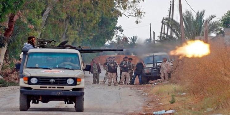 دفع حمله نیروهای حفتر به جنوب پایتخت لیبی