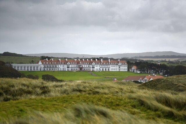پنتاگون طی 2 سال 184 هزار دلار در هتل ترامپ در اسکاتلند هزینه نموده است