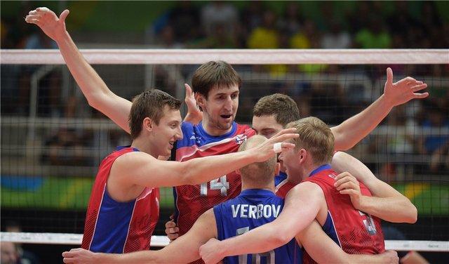 والیبال روسیه به نیمه نهایی المپیک 2016 راه یافت
