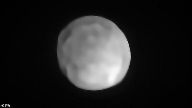سنگی که سیاره کوتوله است، نه سیارک
