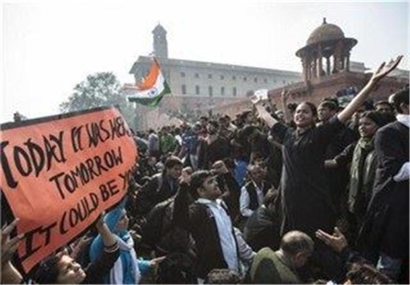 ادامه تظاهرات مردم هند در اعتراض به تجاوز به دختر 5 ساله