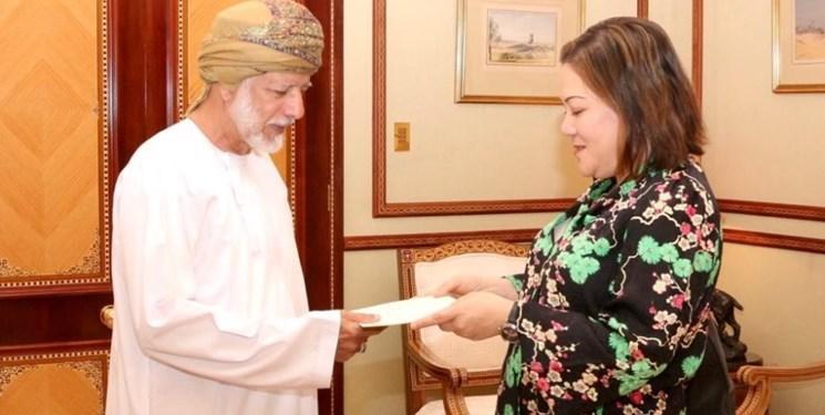 سفیر جدید آمریکا رونوشت استوارنامه خود را تقدیم وزیر خارجه عمان کرد