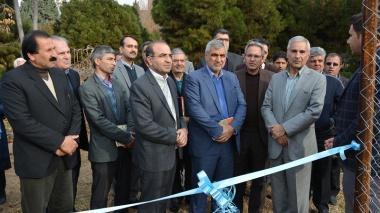 پروژه های عمرانی مجتمع آموزش عالی فنی و مهندسی اسفراین افتتاح شد