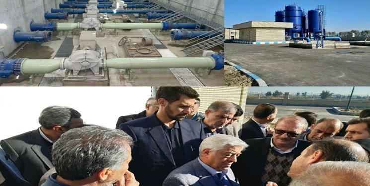 بازدید سرپرست وزارت جهاد کشاورزی از طرح انتقال آب به دشت سیستان
