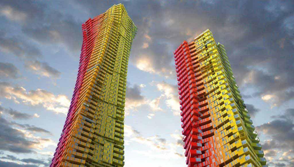 آسمان خراش های قابل حمل ؛ دستاورد جدید حوزه معماری