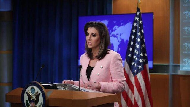 ادعای واهی دیگری از سخنگوی وزارت خارجه آمریکا