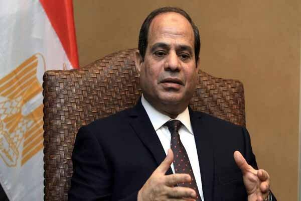 رئیس جمهور مصر وارد لندن شد