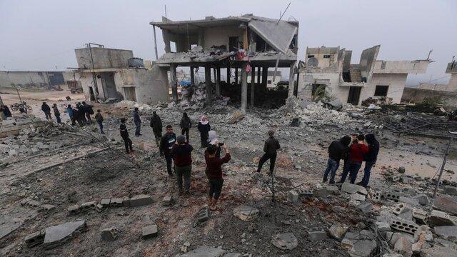 انفجار خودروی بمب گذاری شده در شهر اعزاز سوریه