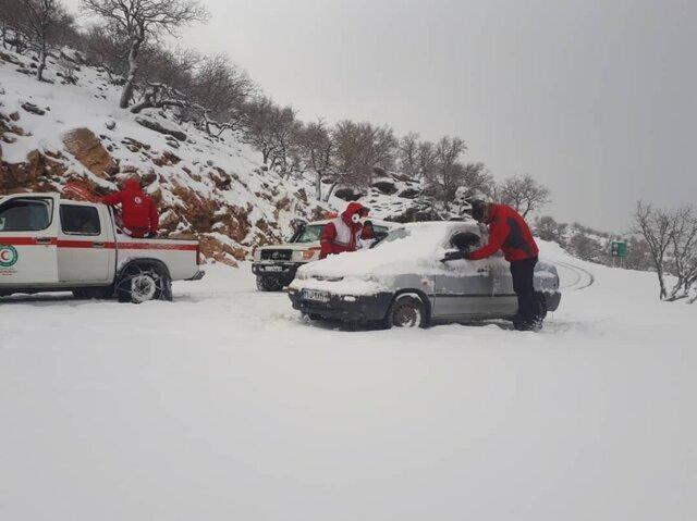برف و کولاک در 24 استان کشور، نجات جان 12343 نفر