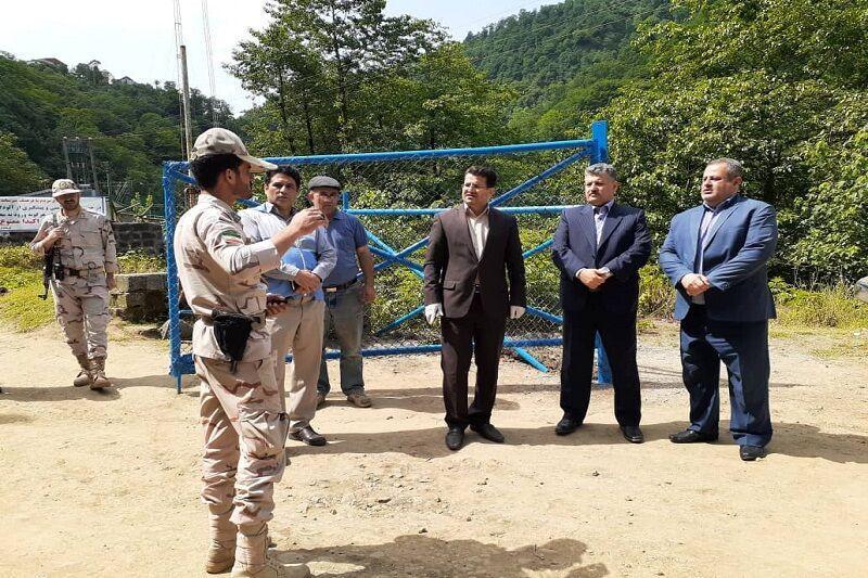 خبرنگاران فرماندار آستارا: گردشگری در بالادست رودخانه بهارستان ممنوع است
