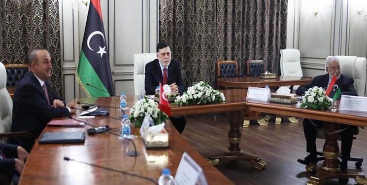 سفر هیأت بلند پایه ترکیه ای به لیبی برای اولین بار