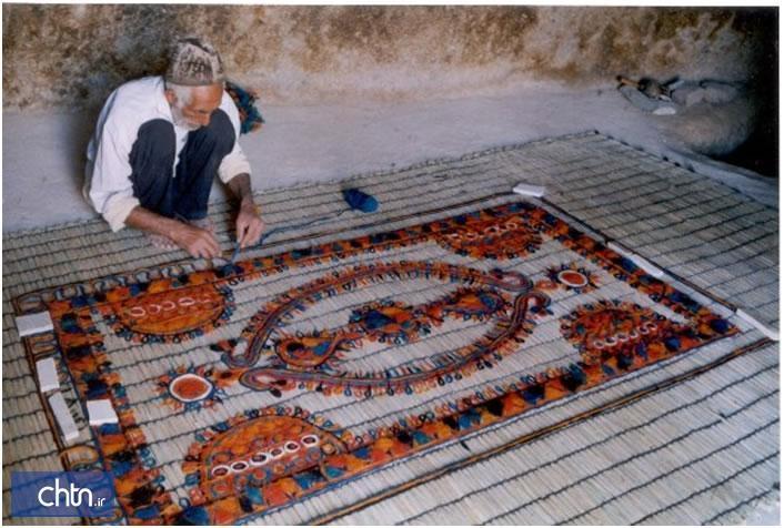 نمد، نماد نقش رنگین هنر در نگاره های سنتی خراسان شمالی
