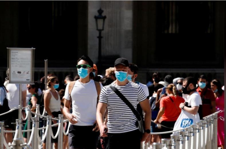 سردرگمی گردشگران فرانسه درباره ماسک، کجا باید ماسک بزنیم؟ ، 159 دلار جریمه ماسک نزدن