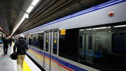 حرکت قطارها در خط 2 مترو تهران عادی شد