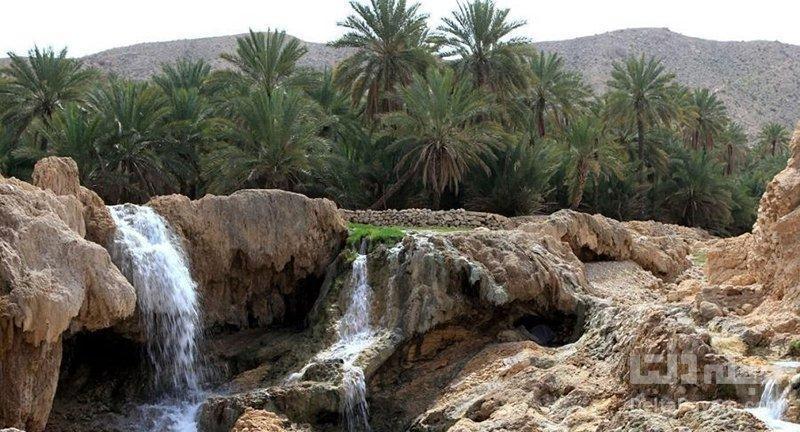 چشمه آبگرم گنو در بندرعباس