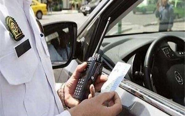 جریمه کرونایی 5007 راننده بی ماسک در تهران