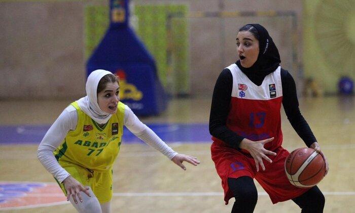 نبرد مدعیان در لیگ برتر بسکتبال بانوان