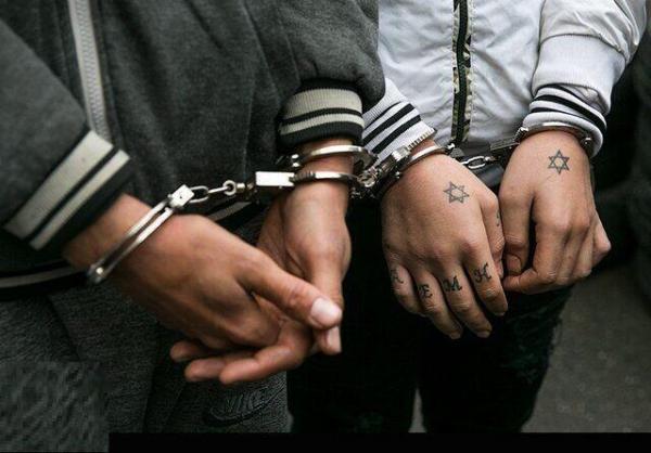 خبرنگاران اعضای باند اراذل و اوباش در اراک به دام افتادند