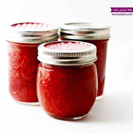 طرز تهیه شربت توت فرنگی و مربای آن