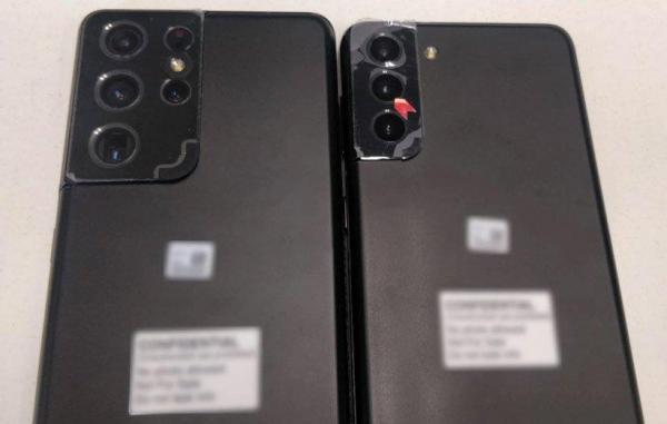 اولین تصویر واقعی از ماژول دوربین گلکسی S21 پلاس و S21 اولترا منتشر شد