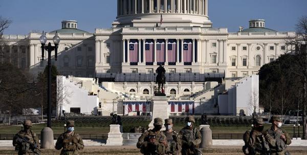 پنتاگون با استقرار 25 هزار نیروی امنیتی در واشنگتن موافقت کرد