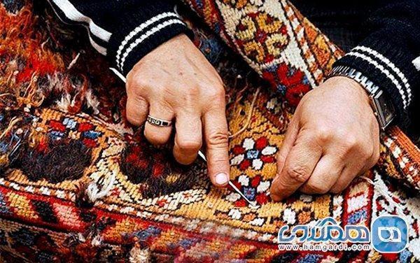 کرونا نفس هنرمندان صنایع دستی را به شماره انداخته است