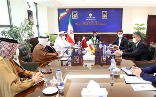 تاکید ایران و قطر بر همکاری دوجانبه در حوزه حمل و نقل