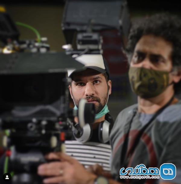 محمد امین کریم پور در پشت صحنه فیلمش