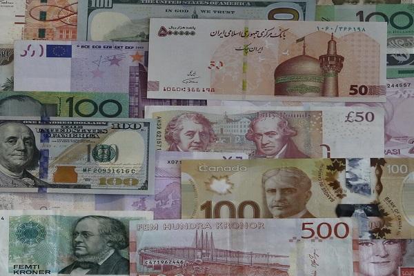 نرخ رسمی 22 ارز کاهش یافت