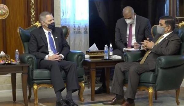 ملاقات سفیر آمریکا با وزیر دفاع عراق