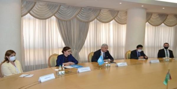 ملاقات رئیس جمهور ترکمنستان با نماینده سازمان ملل در عشق آباد